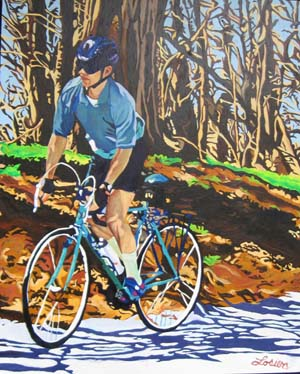 Exercise and Stress - Spring Ride on Sulphur Springs
