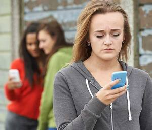 Girls cyberbullying using social media and disappearing apps