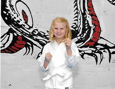 My Daughter Now - 1 Month into Karate